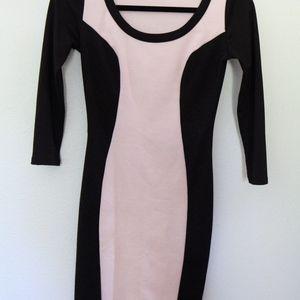 Bodycon Big Star Little Black Dress